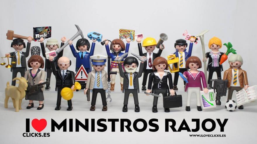I love ministros Rajoy