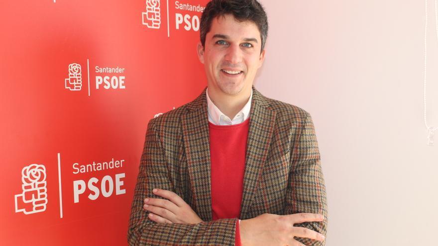 Daniel Martínez, portavoz municipal del PSOE de Santander.