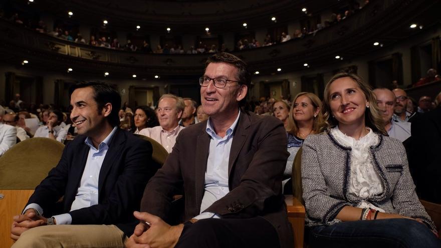 """Feijóo pide el voto a simpatizantes de PSOE y C's y les propone """"una coalición para evitar el populismo"""""""