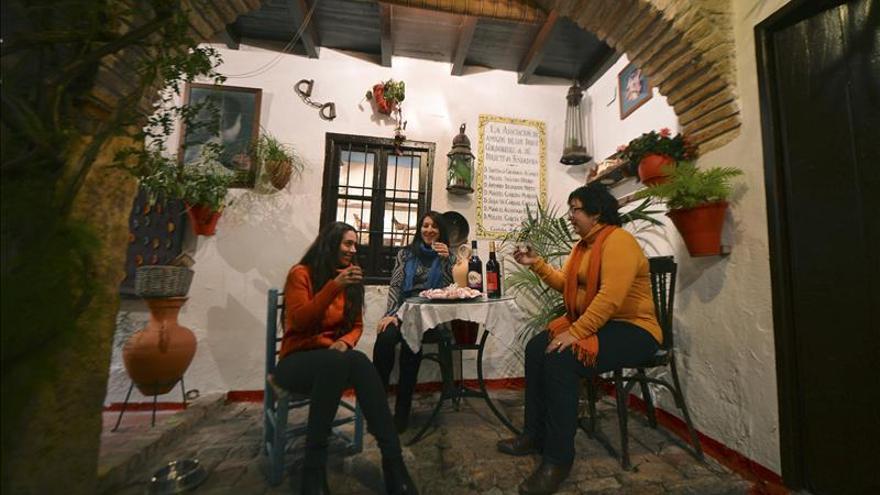 Patios de Córdoba en Navidad, un patrimonio perenne y cada vez más vivo