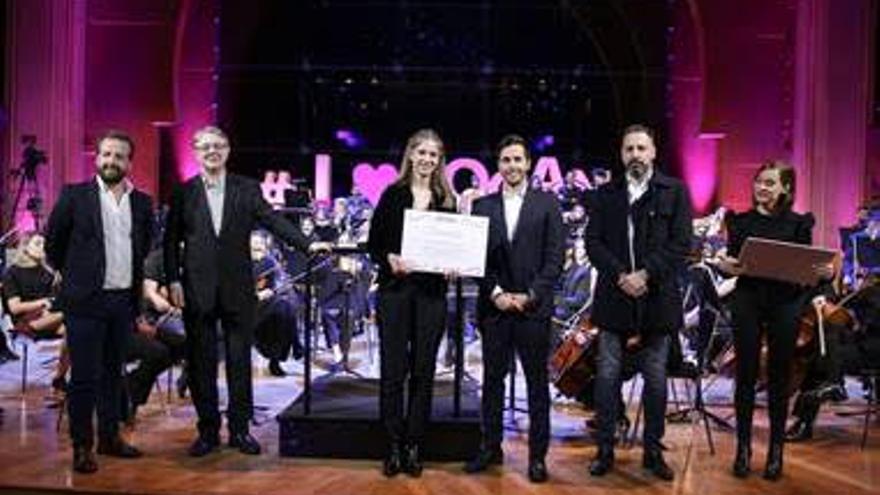 Binter apoya a la Joven Orquesta de Canarias.