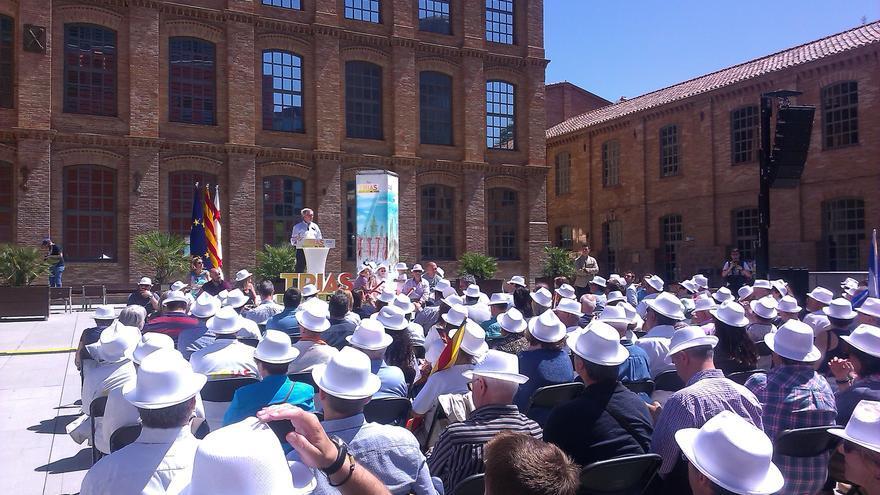 Trias compara Colau amb el PP en l'acte central de campanya de CiU a Barcelona / JORDI MOLINA