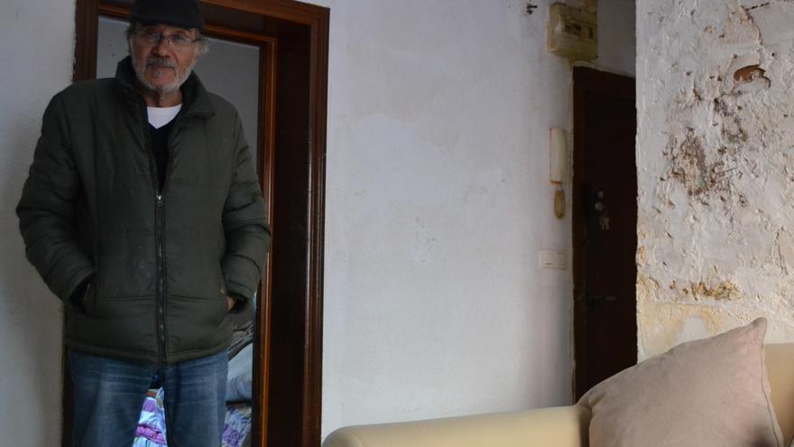 Antonio López, en su vivienda   N.C.
