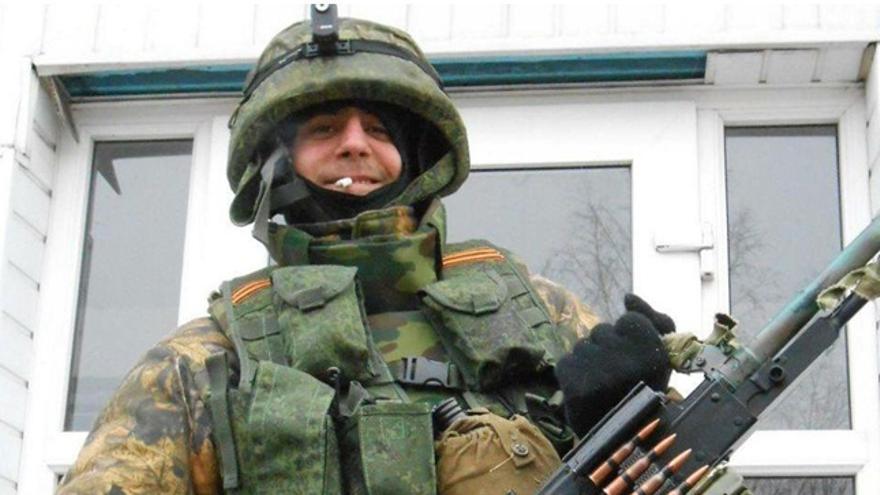 Uno de los españoles detenidos por irse a combatir a Ucrania / Imágenes cedidas por la Policía