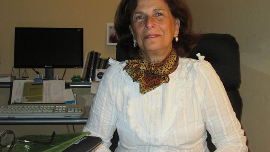 Milagros Fuentes es abogada y ex decana del Colegio de Abogados. Foto: LUZ RODRÍGUEZ.