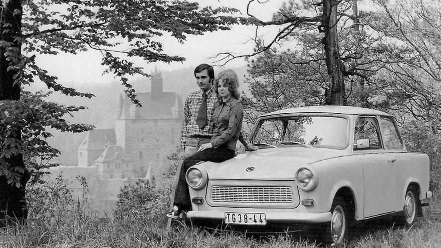 Una postal de 1975 de Alemania Oriental. PK / Flickr