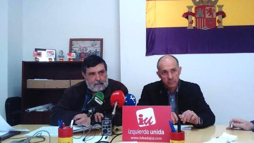 Felipe Cabezas ha mostrado su apoyo explícito a Sosa frente a las acusaciones de la dirección regional de IU