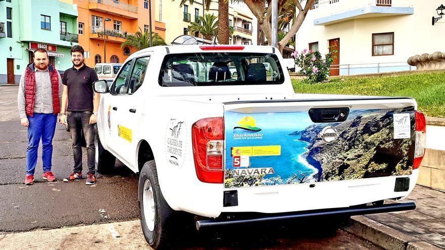 En la imagen, uno de los vehículos adquiridos.