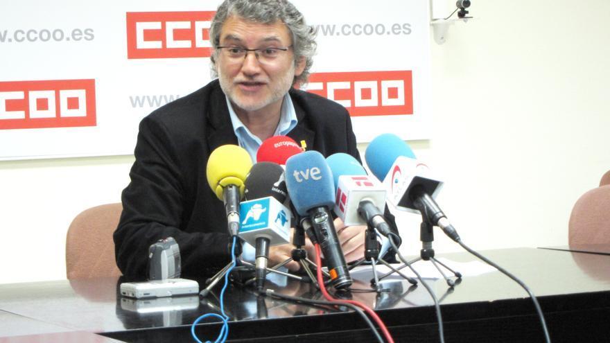 """CC.OO. critica los PGE porque van contra el empleo y """"dejan en el aire"""" la actualización de las pensiones"""