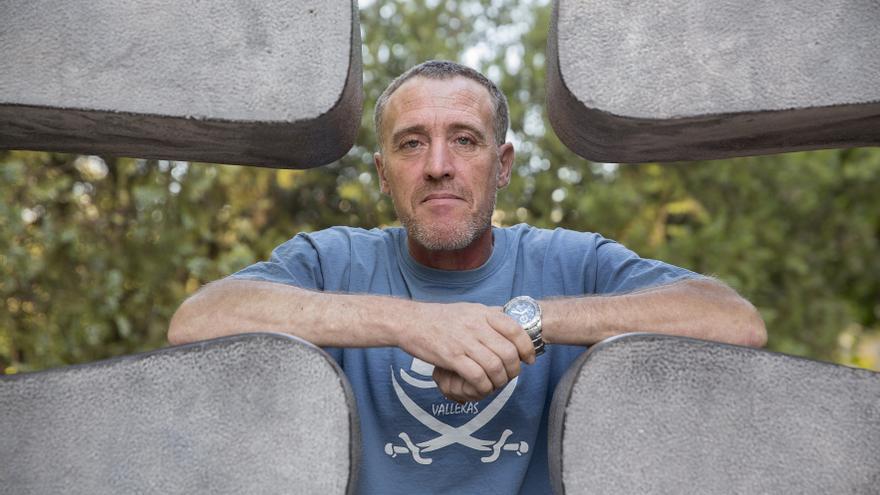 Fiti, el activista de la PAH que está a punto de entrar en prisión. / Olmo Calvo