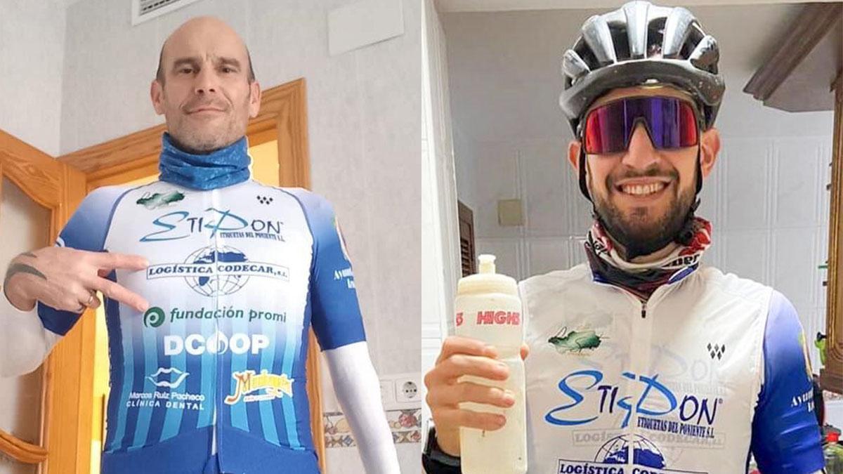 José Luis Jiménez y Manuel Moyano, del Para-Sport.
