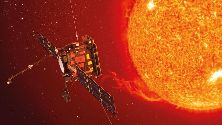 Solar Orbiter: un viaje más allá de Mercurio, temperaturas superiores a 500 ºC, un escudo de titanio y huesos de animal, dos instrumentos con tecnología española, primeras observaciones de los polos del Sol, una combinación única de datos in situ y teledetección.