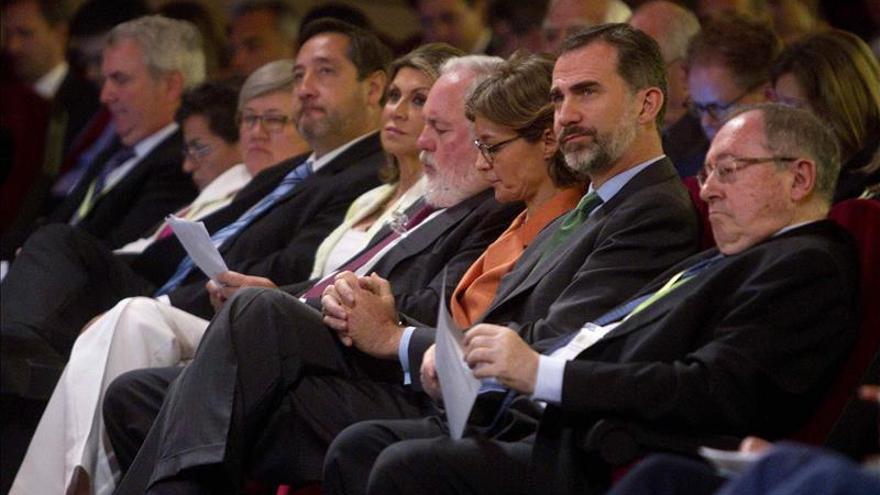 Don Felipe destaca la importancia que tiene luchar contra el cambio climático
