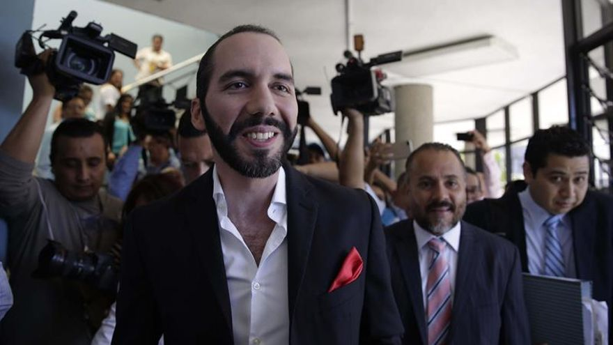 El exalcalde salvadoreño Bukele elegido candidato presidencial del partido GANA