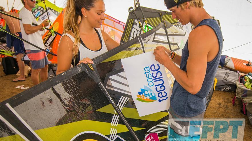 Este miércoles se inicia la categoría Freestyle en la Playa de Las Cucharas de Lanzarote.