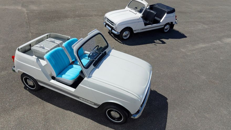 Renault muestra un prototipo que rinde tributo a su popular cuatro latas en versión descapotable, denominada Plein-Air.