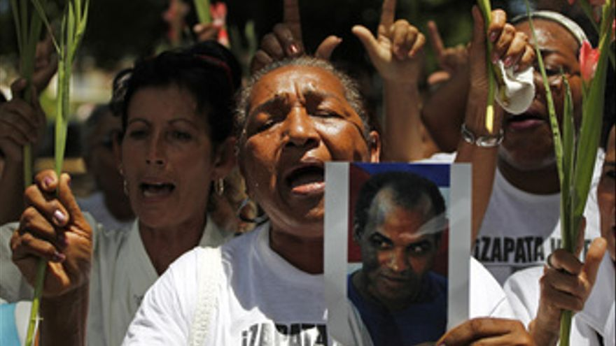 Reina Tamayo, madre del disidente cubano Orlando Zapata