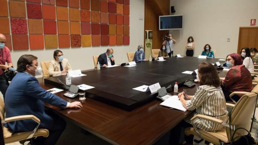 Reunión extraordinaria del Consejo de Gobierno