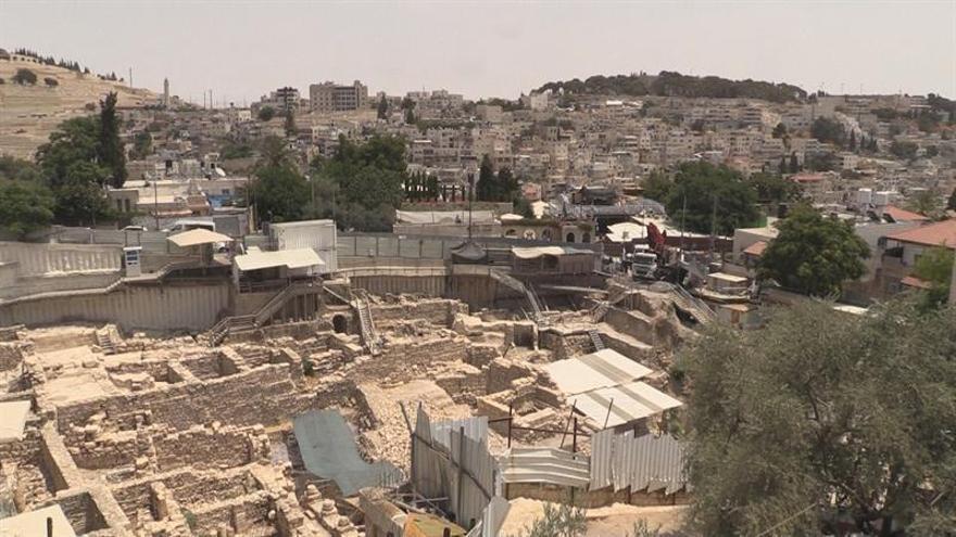 El afán de búsqueda de vestigios judíos indigna al barrio palestino de Silwán