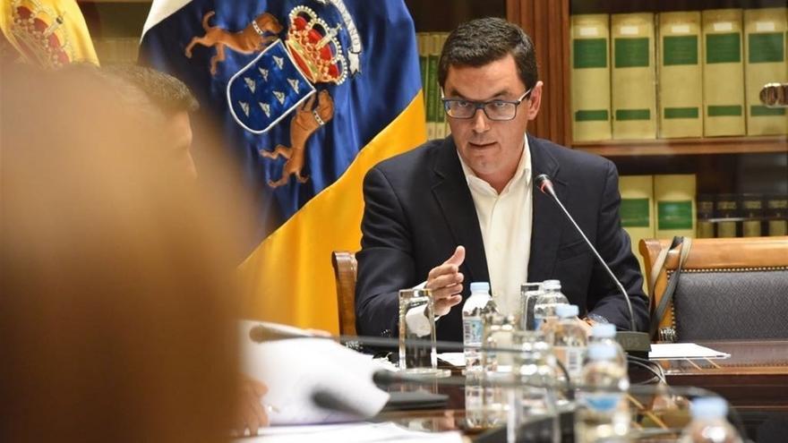 Pablo Rodríguez, consejero de Obras Públicas, en una imagen de archivo