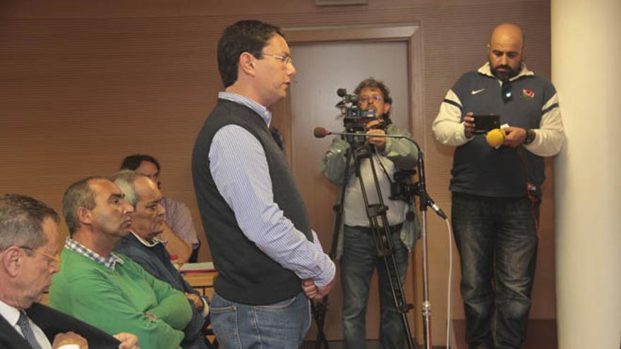 José Daniel Hernández, propietario de Proselan, y el resto de acusados