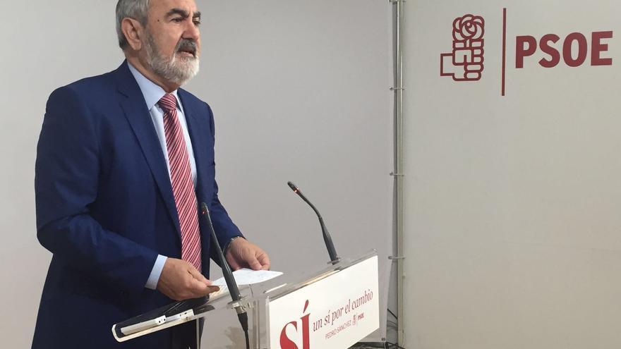 Rafael González Tovar, portavoz socialista en la Asamblea Regional de Murcia.