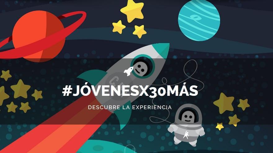 Imagen de la campaña del Consejo de la Juventud / http://www.jovenespor30mas.es/