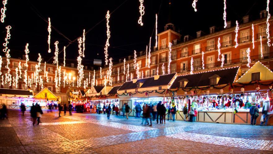 Uno de los principales atractivos de Madrid en esta época del año son sin duda las luces de Navidad.