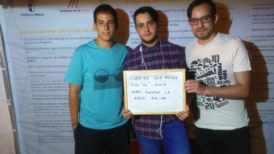 Campaña 'Sin un sí, es no' en Ciudad Real