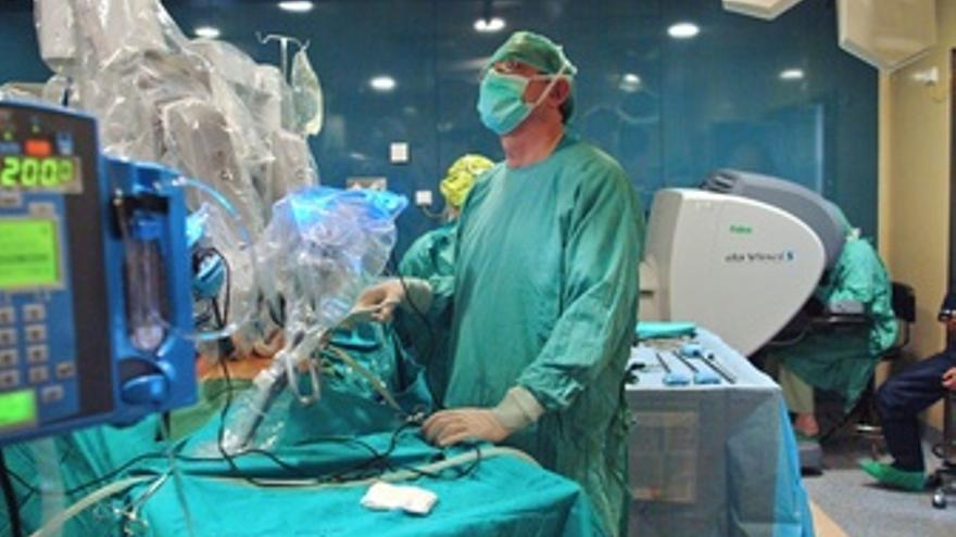 Equipo Da Vinci para cirugias robotizadas