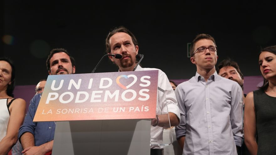 """Pablo Iglesias pide calma interna y rechaza las críticas a la alianza con IU """"a toro pasado"""""""