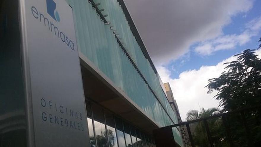 Sede principal de Emmasa, filial de Sacyr, en la ciudad de Santa Cruz de Tenerife