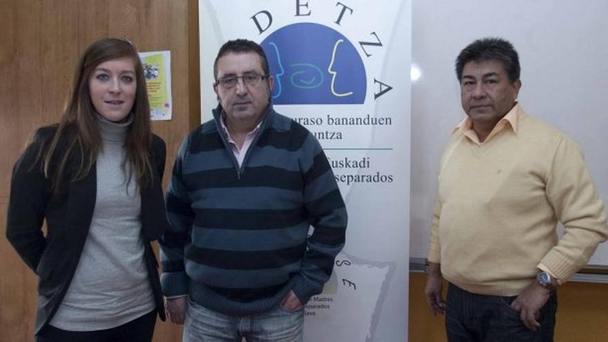 Justo Sáenz, presidente de la Federación de Euskadi de Madres y Padres Separados-Kidetza.