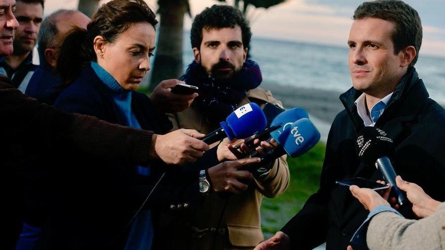 """Casado exige a Sánchez frenar ya la """"kale borroka independentista"""" con otro 155: """"Cataluña está fuera de sí"""""""