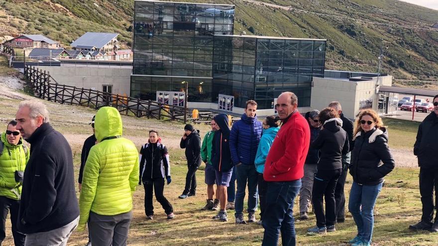 Más de 80 personas asisten a la Jornada de Puertas Abiertas de Alto Campoo