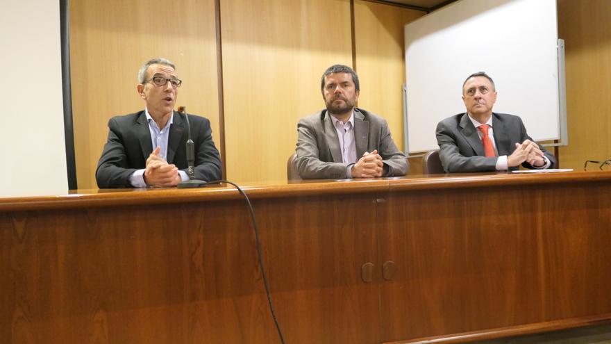 Imagen de la apertura del curso de la Cátedra de Cajasiete.