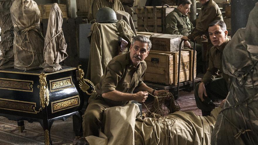 Fotograma de la película Monument Men de George Clooney