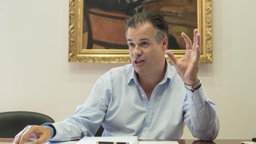 Francisco Ortíz (PRC), alcalde de Astillero.| JAVO DÍAZ