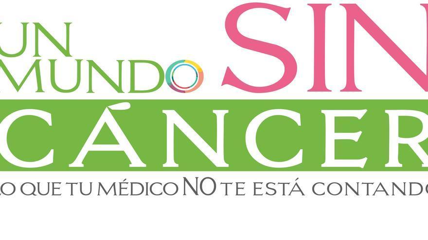 Cartel del congreso 'Un mundo sin cáncer'