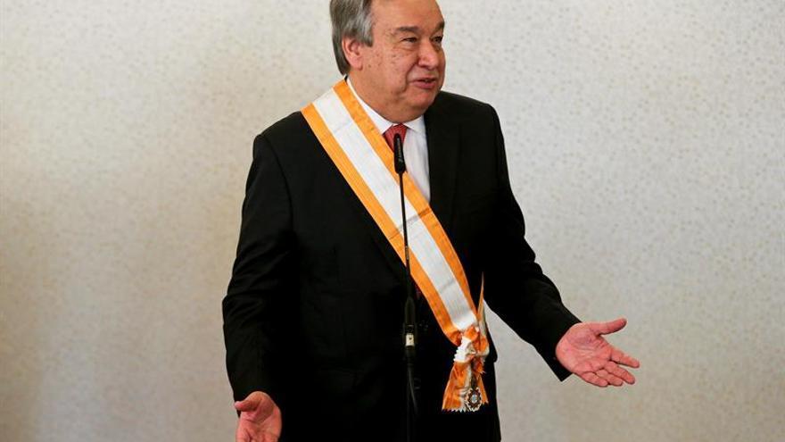 El portugués Guterres, favorito para suceder a Ban Ki-moon tras la primera votación
