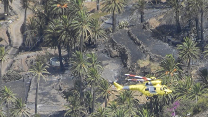 Del incendio de La Gomera #1