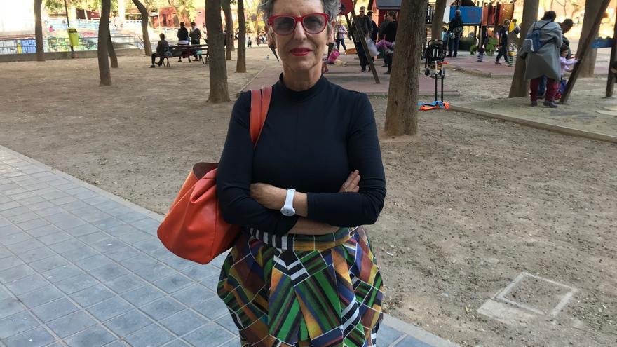 """Raque Rolnik, exministra de Vivienda de Brasil y autora de """"La guerra de los lugares"""", antes de su conferencia en Valencia."""