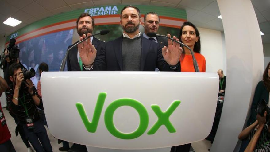 Los doce pioneros de Vox