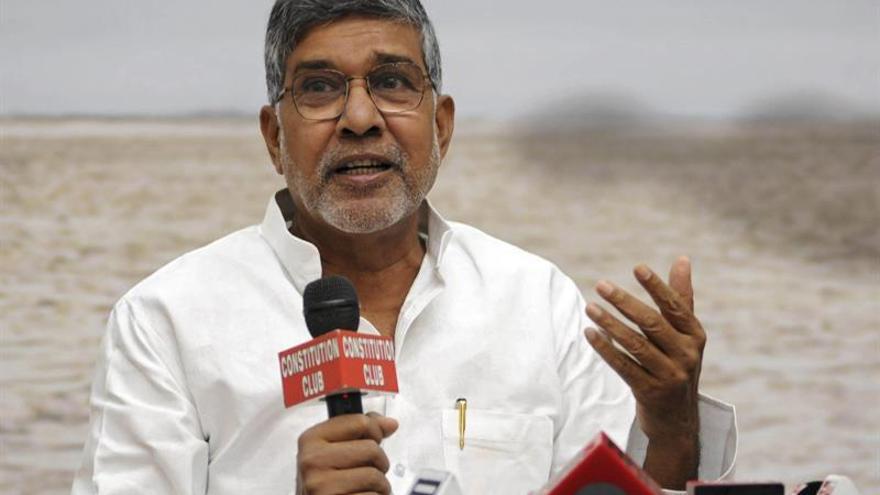 Kailash Satyarthi urge medidas para 163 millones de niños afectados por la sequía
