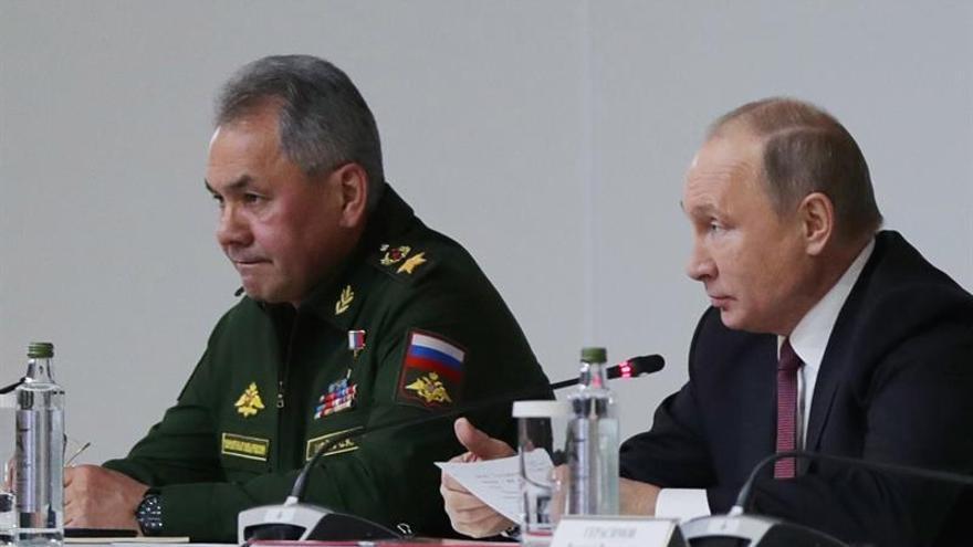 Rusia advierte a EEUU de que sus aviones se toparán con cazas rusos en Crimea