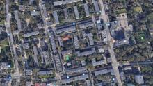Vista aérea de Varsovia en Google Street View