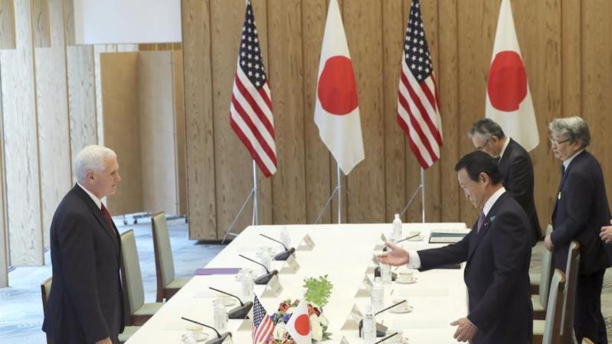 """Pence: """"Japón y EEUU inician un diálogo que podría derivar en acuerdo comercial"""""""