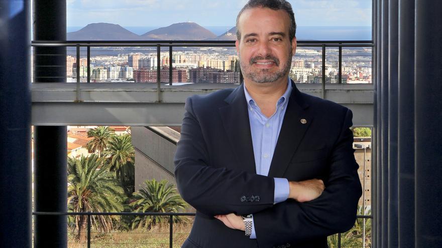 Rafael Robaina, candidato a rector de la Universidad de Las Palmas de Gran Canaria