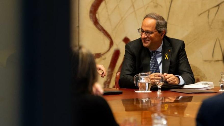 """Torra contrapone la """"gobernabilidad"""" de Cataluña con la """"crisis"""" en España"""