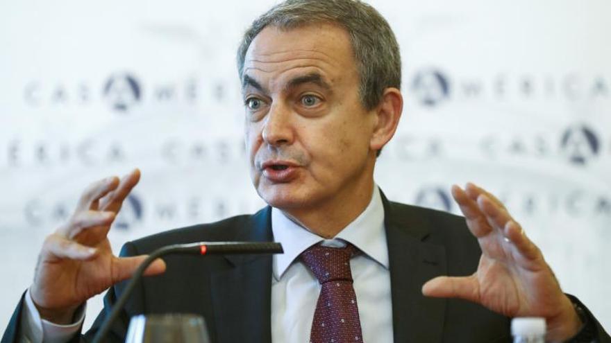 """Zapatero: """"No son golpistas; yo animo a Sánchez a seguir con el diálogo"""""""